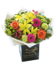 New Baby Vibrant Hand tied or Vase