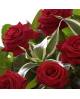 Heavenly Red Rose Hand tied